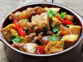 Thịt heo kho đậu dễ làm, ngon cơm